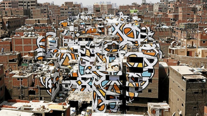 Graffiti Art Gives A Fresh Face To Cairo's Impoverished ...