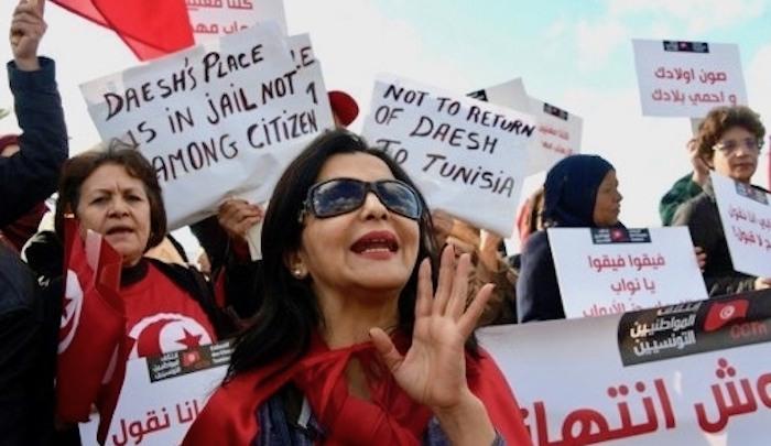 tunisians-protest